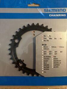 Shimano 105 FC-5800 34T Inner Chainrings 11-Speed (Black) NIB