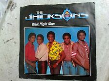 "THE JACKSONS - WALK RIGHT NOW - 7"" SINGLE"