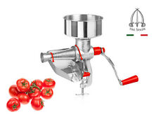 Tre Spade Manual Tomato Squeezer Peeler Strainer Italian Made