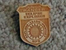 RARE! National Park Service Junior Ranger Badge - Eclipse Explorer (1 BADGE)