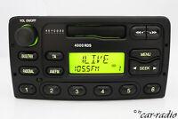 Original Ford 4000 RDS Kassette Autoradio YS6F-18K876 Kassettenradio 2-DIN Radio