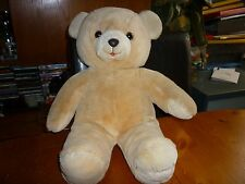 """Harrods 1988 Christmas 13"""" Teddy Bear Foot Dated no clothes bare cuddly bear VGC"""