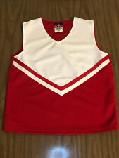 Cheerleading Uniform Top Red and White New Cheerleader Uniform Costume