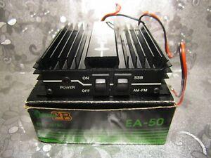 Amplificateur linéaire EURO CB Model : EA-50 ( AM-FM=30 W / USB-LSB=50W ),Testé