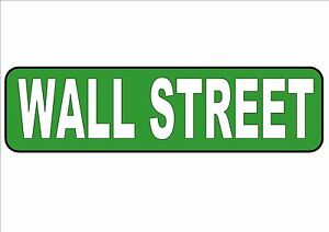 NEW YORK CITY Street Sign Reproduction  Street Sign Wall Street NYC Street Sign