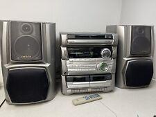 More details for aiwa hifi system cx-za30k 5cd autochanger twin cassette radio tuner & aux in