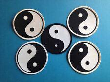 5 Lot Vintage Yin Yang Judo  Jiu Jitsu Karate Tae Kwon Do Martial Arts Patch 448