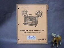 Graflex 16mm Projector Service Instructions and Parts List Volume 6812 PR