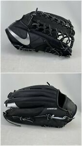 NEW Nike BSBL Hyperfuse Elite Pro MVP 12.5 Baseball Glove Right Hand Throw Black
