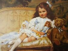 Marjorie, Aged Five by Neale George Hall Artwork by Selby Prints