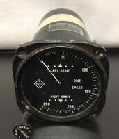 Narco K-04191-1 GSI-1 DME Speed Indicator Knots National Aeronautical Corp Gauge
