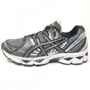 Asics Gel-Nimbus 12 Running Shoes Sneakers Men's Size 9.5 M (D) T045N Gray