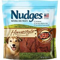 Nudges Steak Grillers Dog Treats, Made in the USA ,16 oz