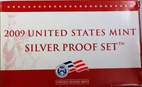 2009 US Mint Silver Proof Set 18 Gem Coins w/ Box & COA