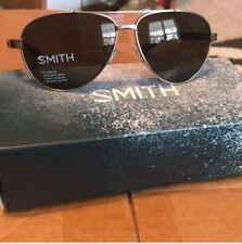 Smith Optics Sunglasses Polarized Lowdown Wrap-Around, Gray/Green
