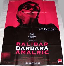 BARBARA Jeanne Balibar  Show biz   Mathieu Amalric  GRANDE AFFiCHE