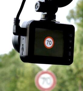 Verkehrsschild Tempolimit erkennung,Verkehrszeichenerkennung z. Nachrüst.,VZE
