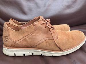 Timberland Mens Sensorflex ReBOTL Tan Brown Lace up Shoes 8