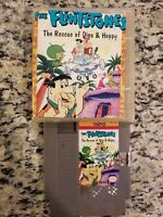 FLINTSTONES THE RESCUE OF DINO AND HOPPY NES NINTENDO  CARTRIDGE ONLY FREE SHIP
