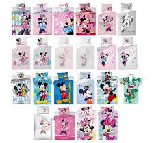 Baby Kinder Bettwäsche DISNEY 100x135 2-tlg Minnie, Mickey