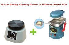 Dental Vacuum Molding&Forming Machine JT-18+Round Vibrator Vibrating JT-14 220V