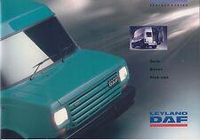 Leyland Daf 200 & 400 Series Original UK Sales Brochure circa 1992-93 No. LD 028
