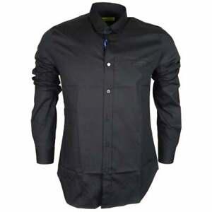 Versace Jeans Cotton Pop Black Shirt