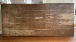 Solid Kauri Pine wood dining table top | antique | vintage