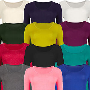 Womens Heatgen™ Thermal Top New Marks & Spencer Long Sleeve M&S Warm Scoop Neck