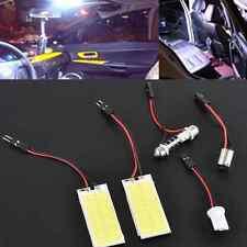 2pcs Xenon HID 36 COB LED Dome Map Light Bulb Car Interior Panel White Lamp 12V