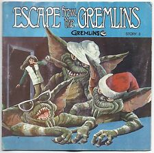 BOOK & RECORD Gremlins Escape From The Gremlins Story #3