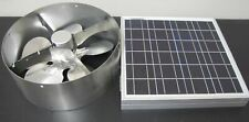 NEW FISTERS SOLAR POWERED ATTIC VENT WITH FOLDABLE SOLAR PANEL
