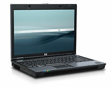 "PC PORTATILE  HP BLUE 6510b CORE DUO @ 2000 MHZ!! 4GB ram!! 160 HD WIN 7  14"" WI"