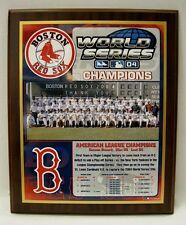 Boston Red Sox 2004 World Series Championship Plaque by Healy Awards