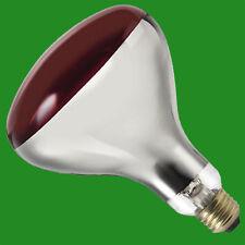 2x 150W R-125 Infrared Heat Bulb Ruby E27 Lamp Muscular Healthcare Rheumatism