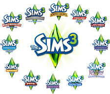 THE SIMS 3 + All Expansions Packs Steam PC Digital Version + 40 games free DLC