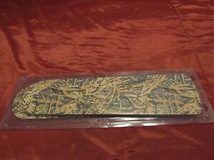 """Set of 5 Mossy Oak Break Up Camo & Grass Camouflage Ceiling Fan Blades - 21"""" Fan"""
