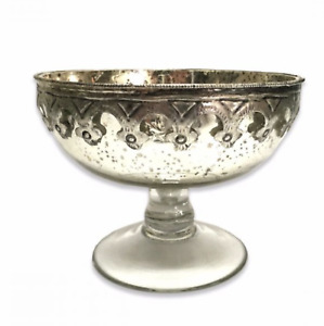 Antique Effect Silver Cassius Display Bowl