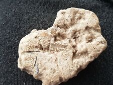 Very rare Roman lead tablet with writing & markings please read description L303