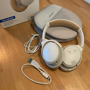 BOSE casque SOUNDLINK AROUND EAR Blanc Beige sans fil Bluetooth