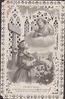 IMAGE PIEUSE ANCIEN CANIVET - L'HEUREUX VOYAGE - CHEMIN DU CIEL/SAINT JOSEPH