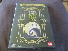 "DVD ""L'ETRANGE NOEL DE MR MONSIEUR JACK"" film d'animation de Tim BURTON"