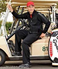 Adidas Golf Mens Range Wear Rain Jacket Windshirt BLACK NEW XL