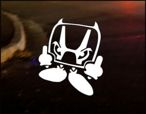 HONDA DEVIL MAN  Decal vinyl sticker Japan Drift Funny Track S2000 Civic Type R