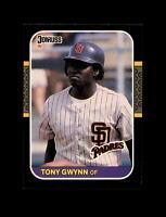 1987 Donruss Baseball #64 Tony Gwynn (Padres) NM-MT  #AAB123