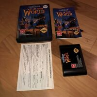 Sega Genesis Game OUT OF THIS WORLD AUTHENTIC Complete CIB w/ MANUAL, REG CARD