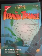 Call of Cthulhu 1990's THE BERMUDA TRIANGLE Chaosium RPG