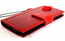 Genuine Natural leather case for LG G3 id Window 3 Credit Cards slots Magnetic