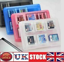 24 DS Game Case Holder for Nintendo 3DS DSi XL Lite DS colour BLUE