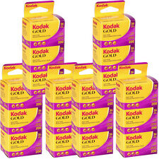 18 Rolls Kodak Gold 200 Color 135-36 Print Film - Sealed Packs - Dated: 09/2016